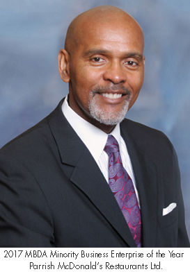 Roland Parrish, President and CEO